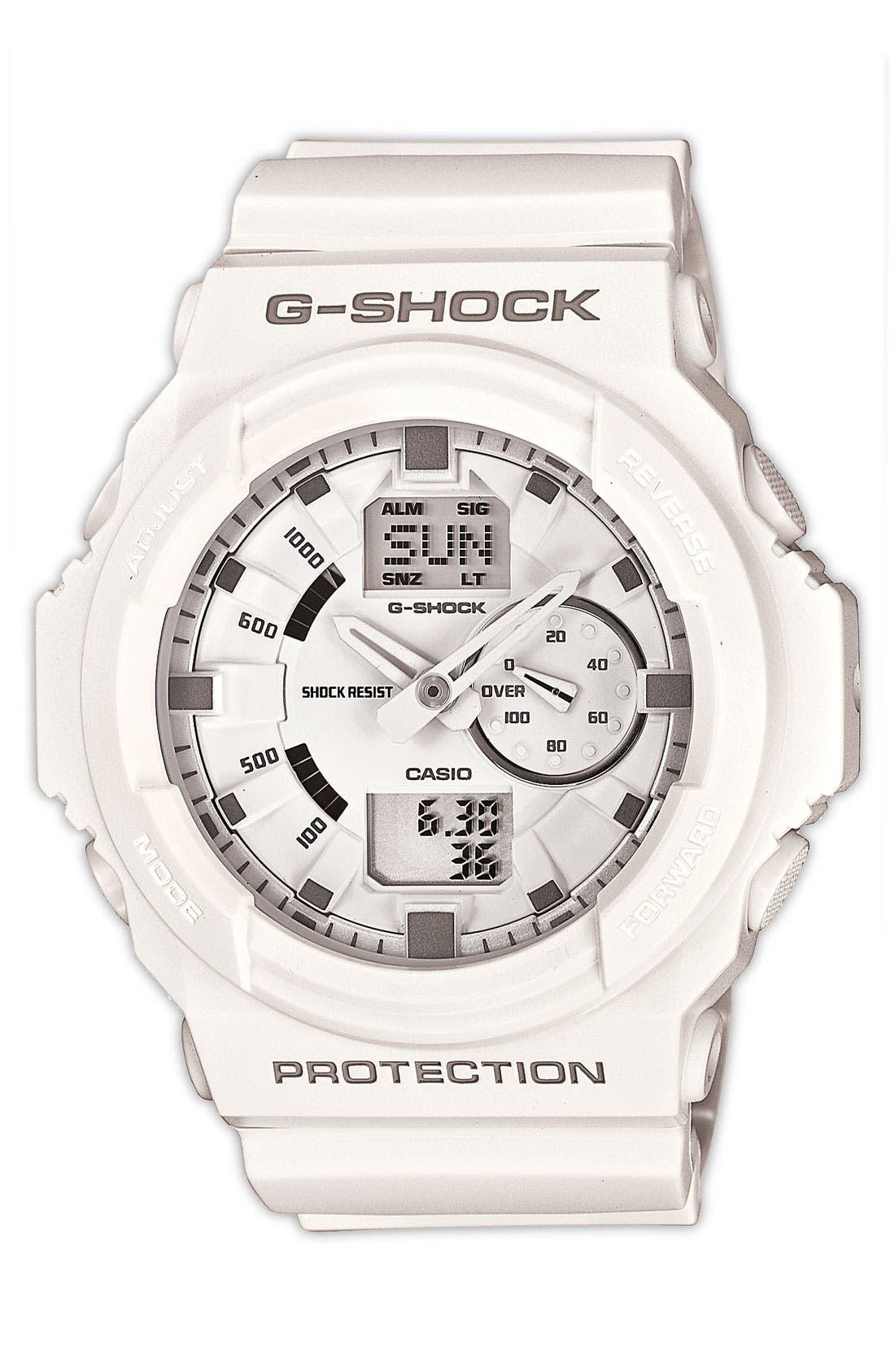 Main Image - G-Shock 'X-Large' Dual Movement Watch, 52mm