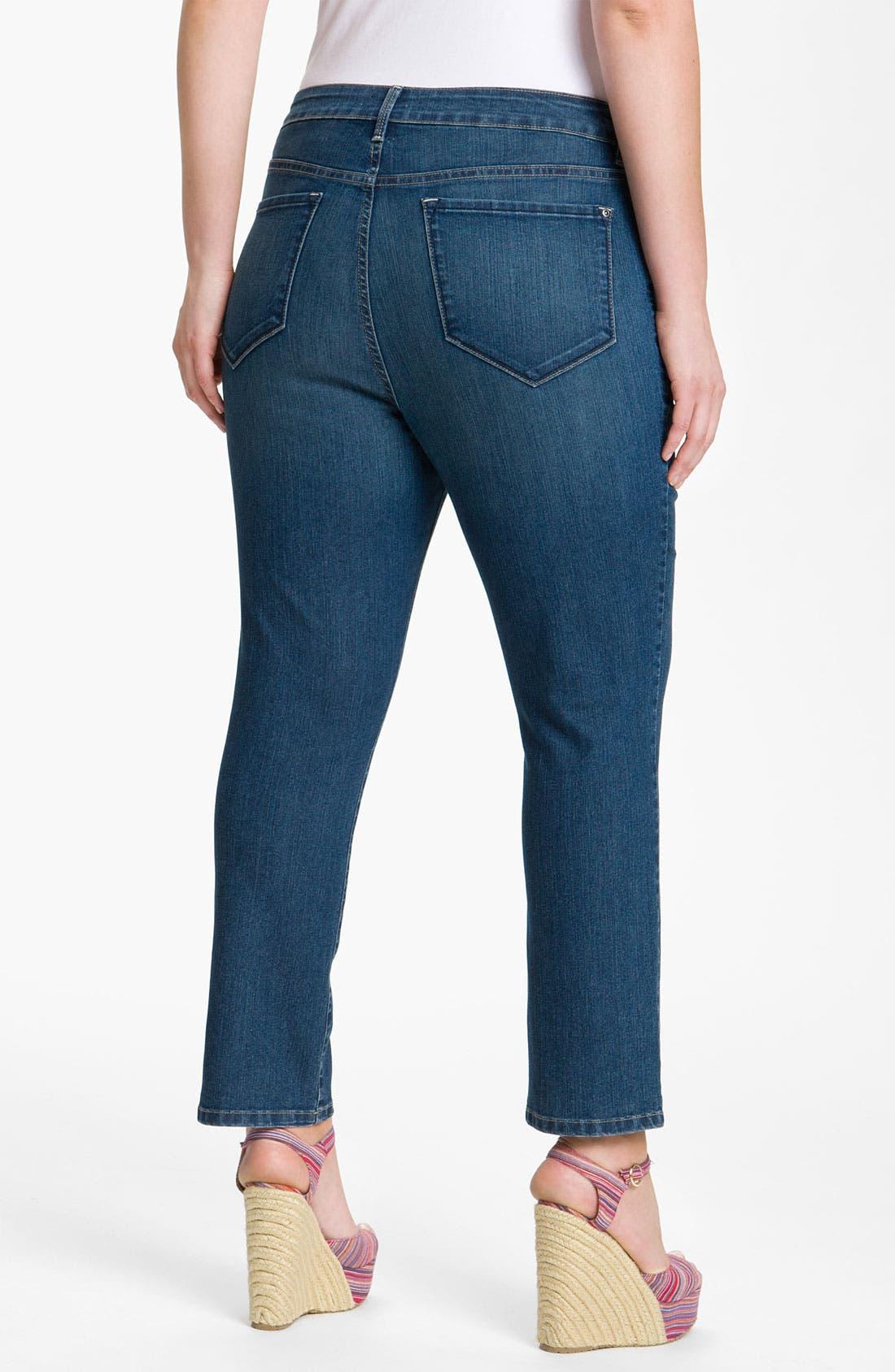 Alternate Image 1 Selected - NYDJ 'Cora' Ankle Jeans (Plus)