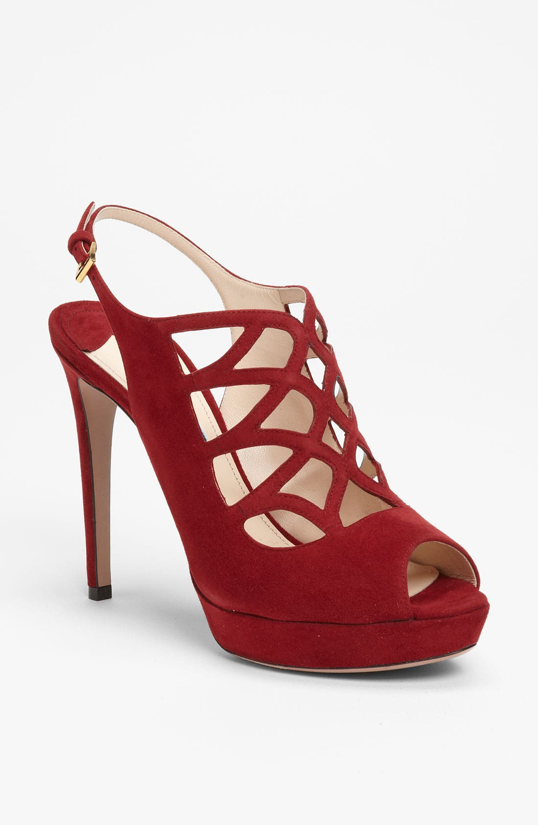 Alternate Image 1 Selected - Prada Cutout Sandal
