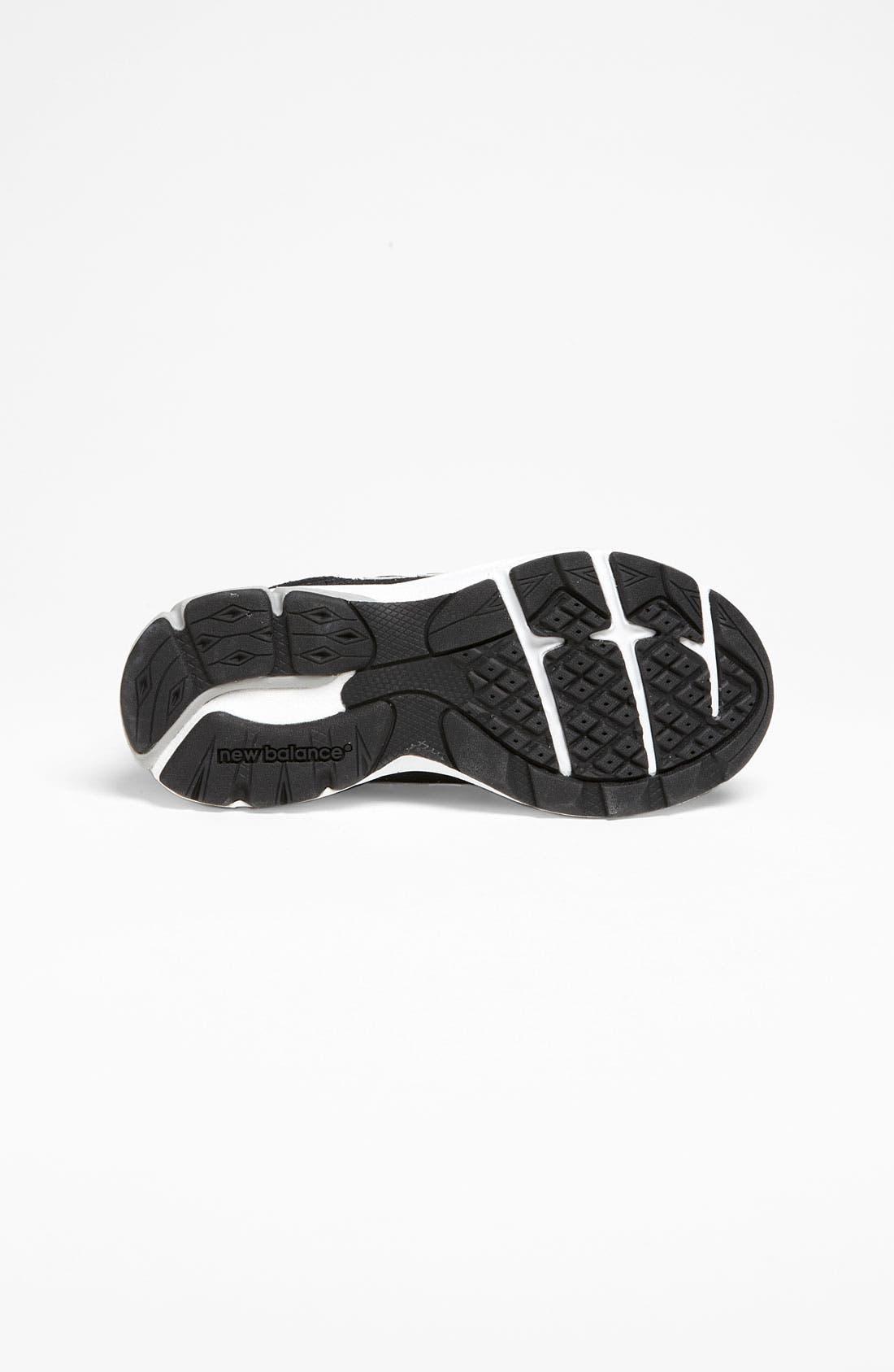 Alternate Image 4  - New Balance '990' Sneaker (Online Only) (Baby, Walker, Toddler, Little Kid & Big Kid)