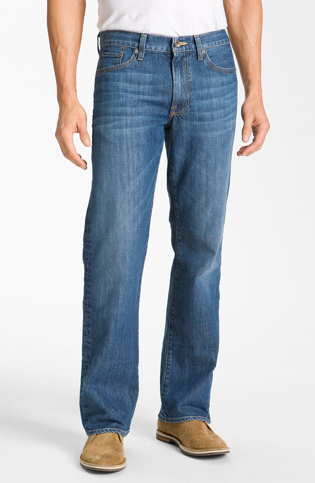 Alternate Image 1 Selected - Lucky Brand '361 Vintage' Straight Leg Jeans (Rinse)