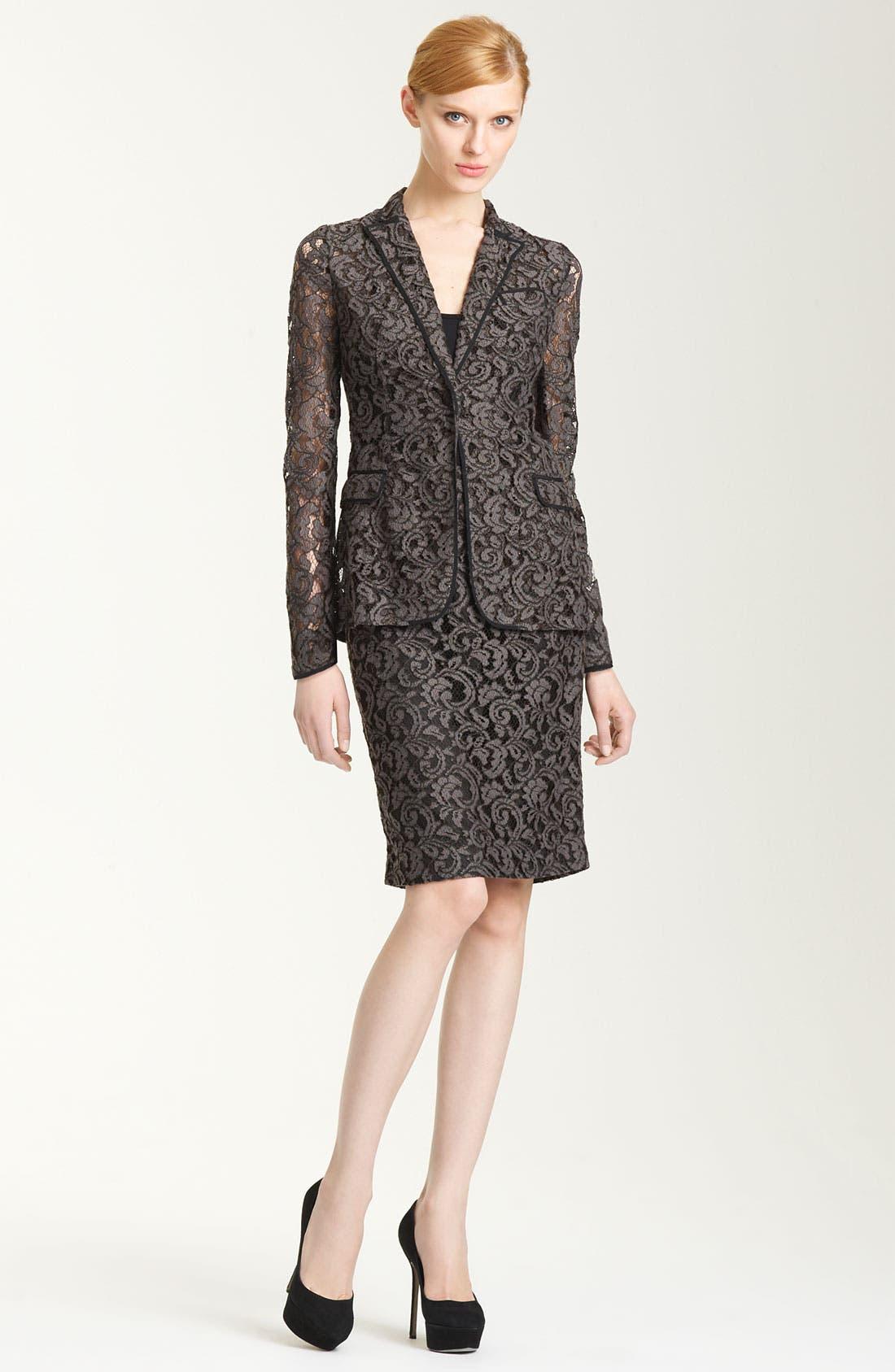 Alternate Image 4  - Moschino Cheap & Chic Lace Jacket