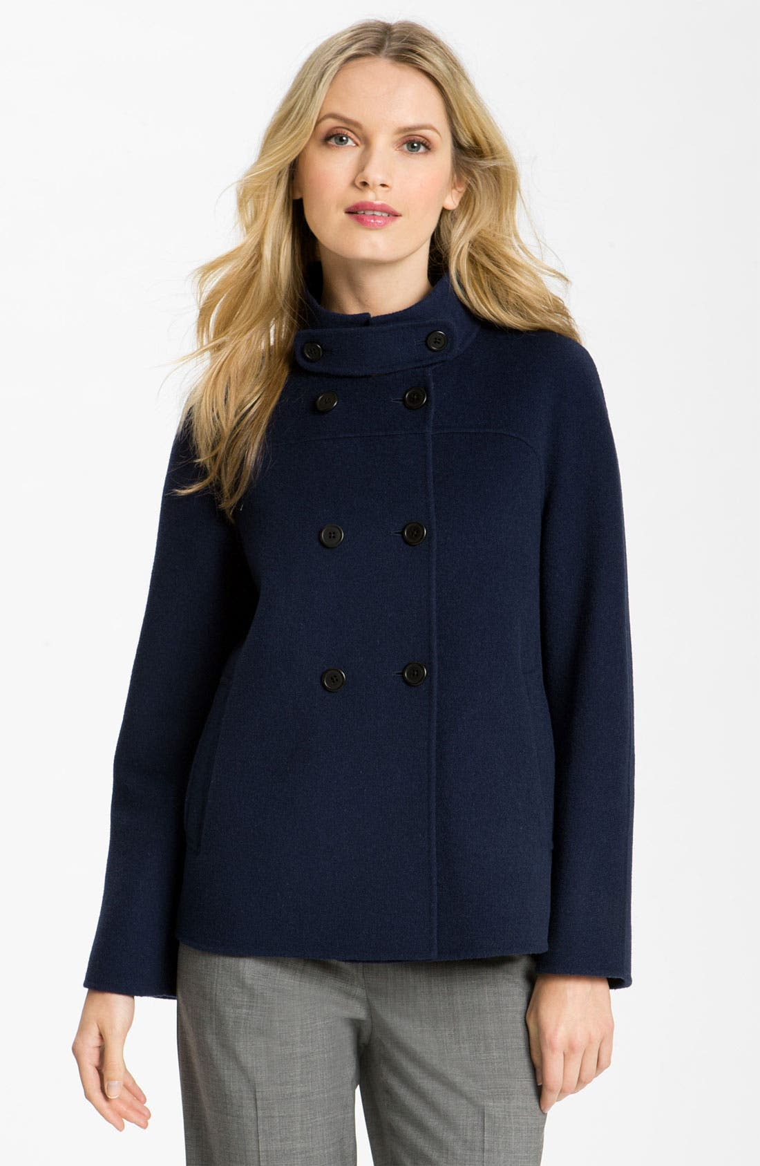 Alternate Image 1 Selected - Weekend Max Mara Double Breasted Coat