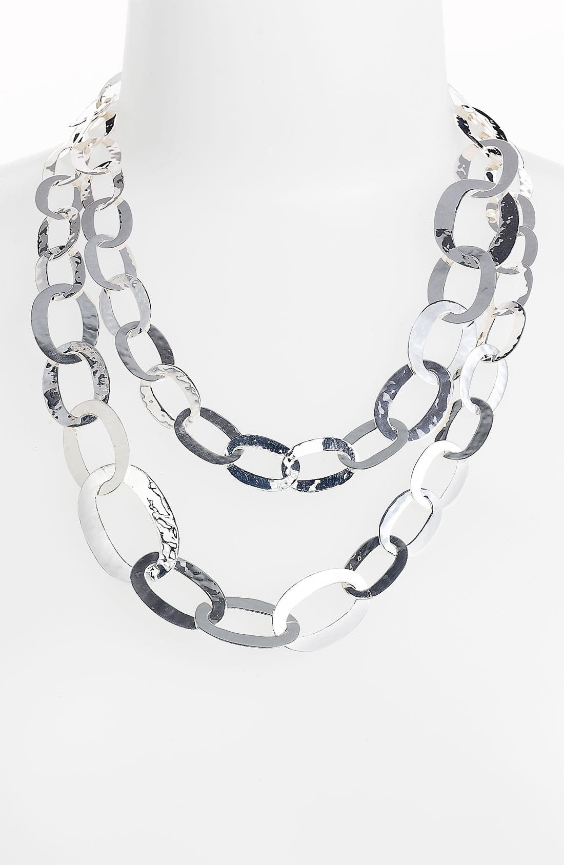 Alternate Image 2  - Ippolita 'Flat Links' Long Necklace