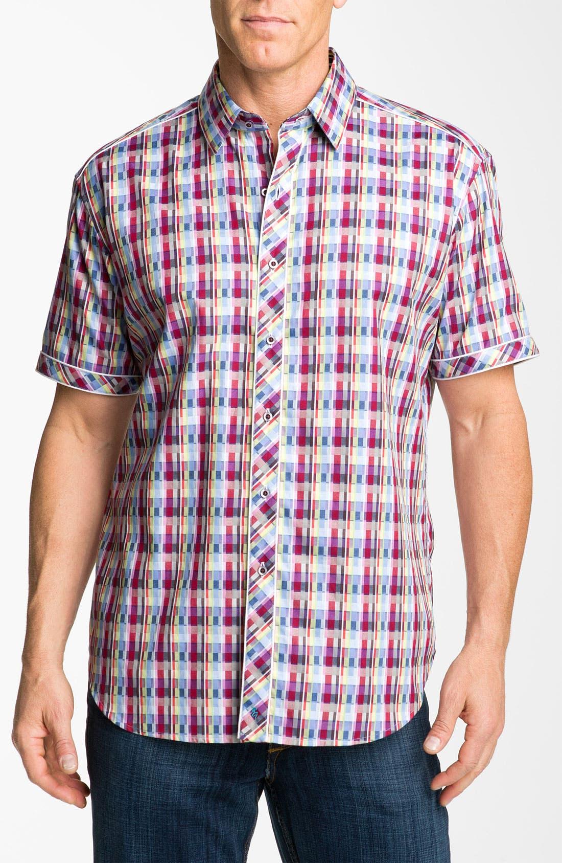 Alternate Image 1 Selected - Robert Graham 'Onset' Regular Fit Sport Shirt
