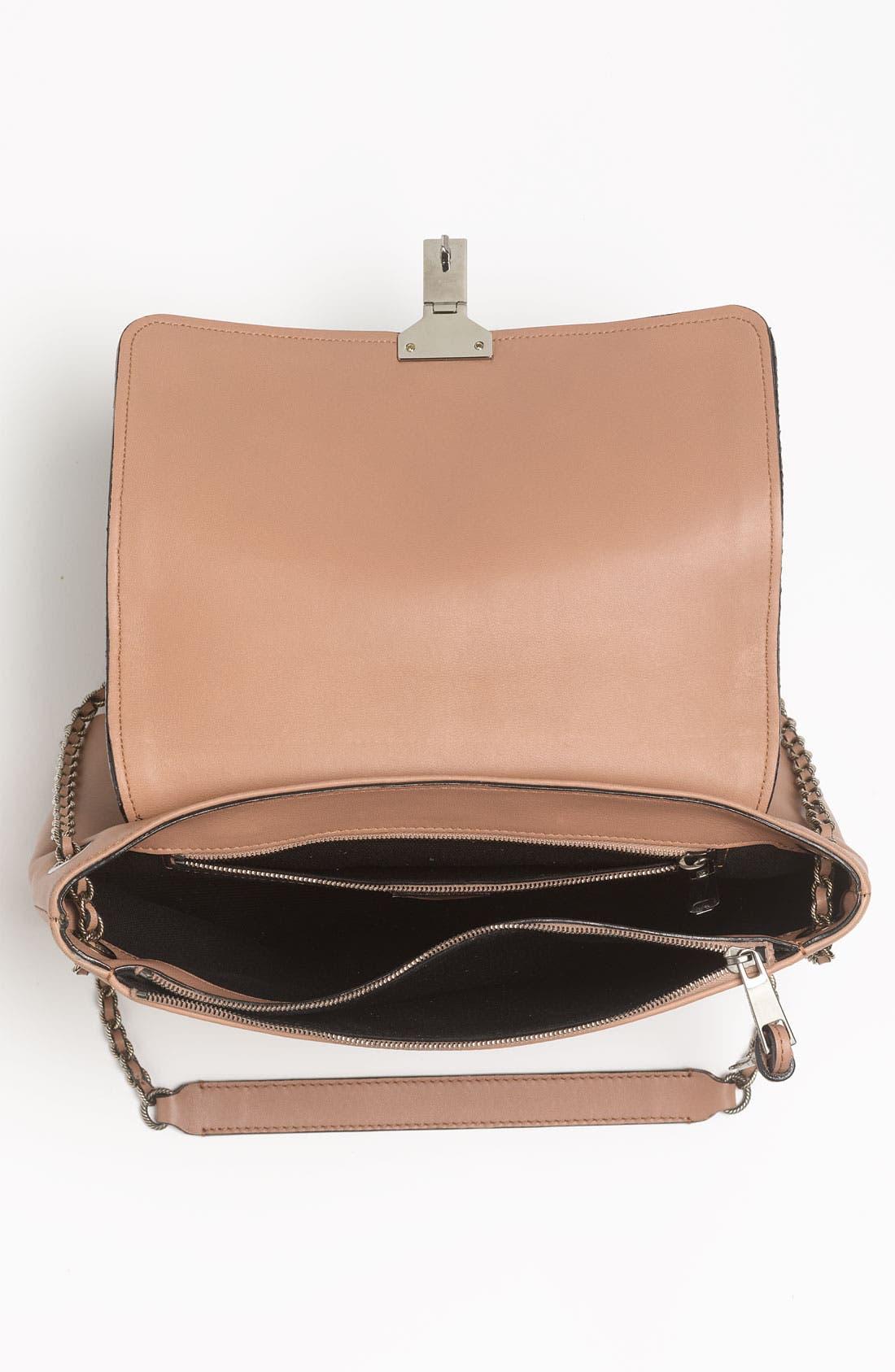 Alternate Image 3  - MARC JACOBS 'Safari - Large Single' Leather & Calf Hair Shoulder Bag