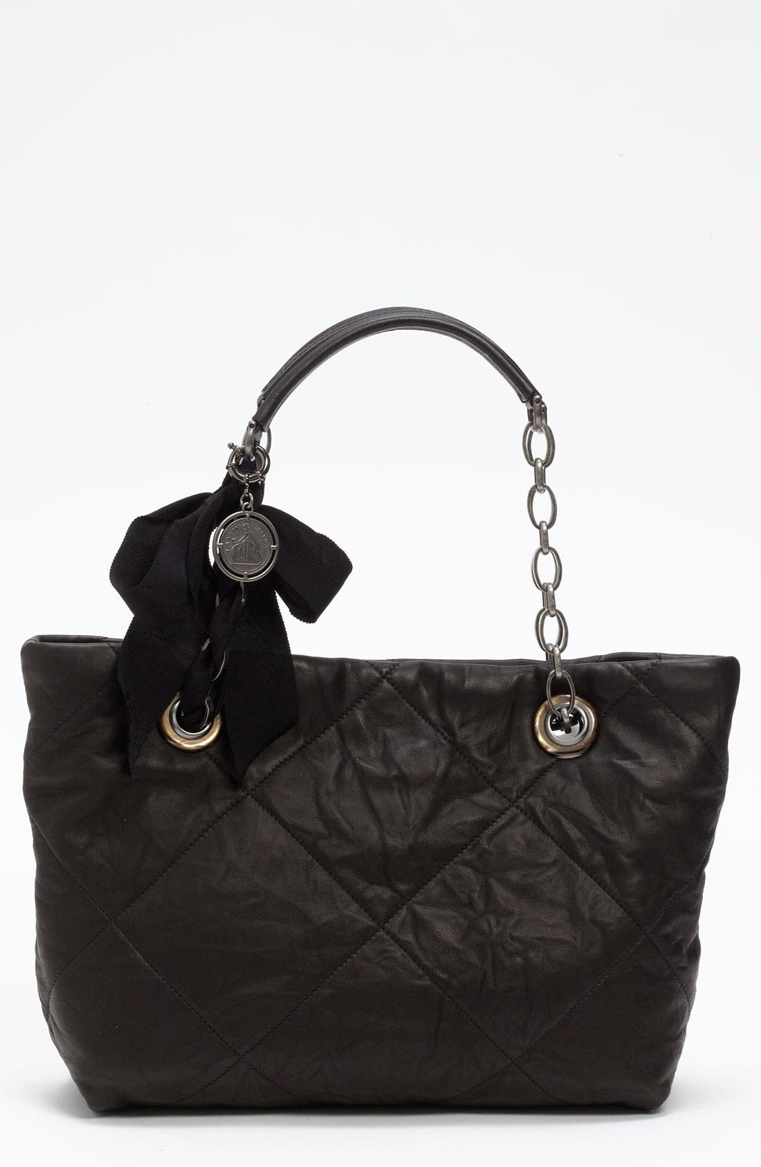 Alternate Image 1 Selected - Lanvin 'Amalia - Small' Leather Tote