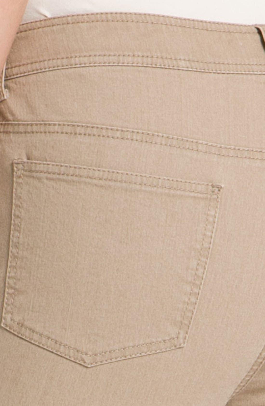 Alternate Image 3  - Lafayette 148 New York Cuff Crop Jeans