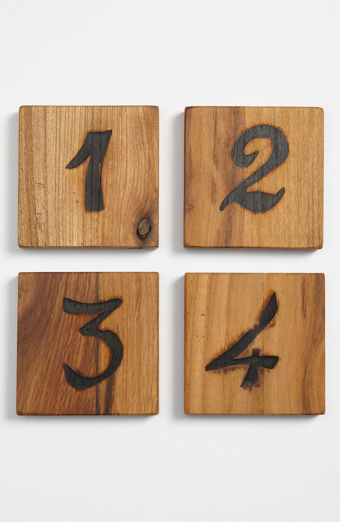 Main Image - Europe2You 'Chunky' Wood Coasters (Set of 4)