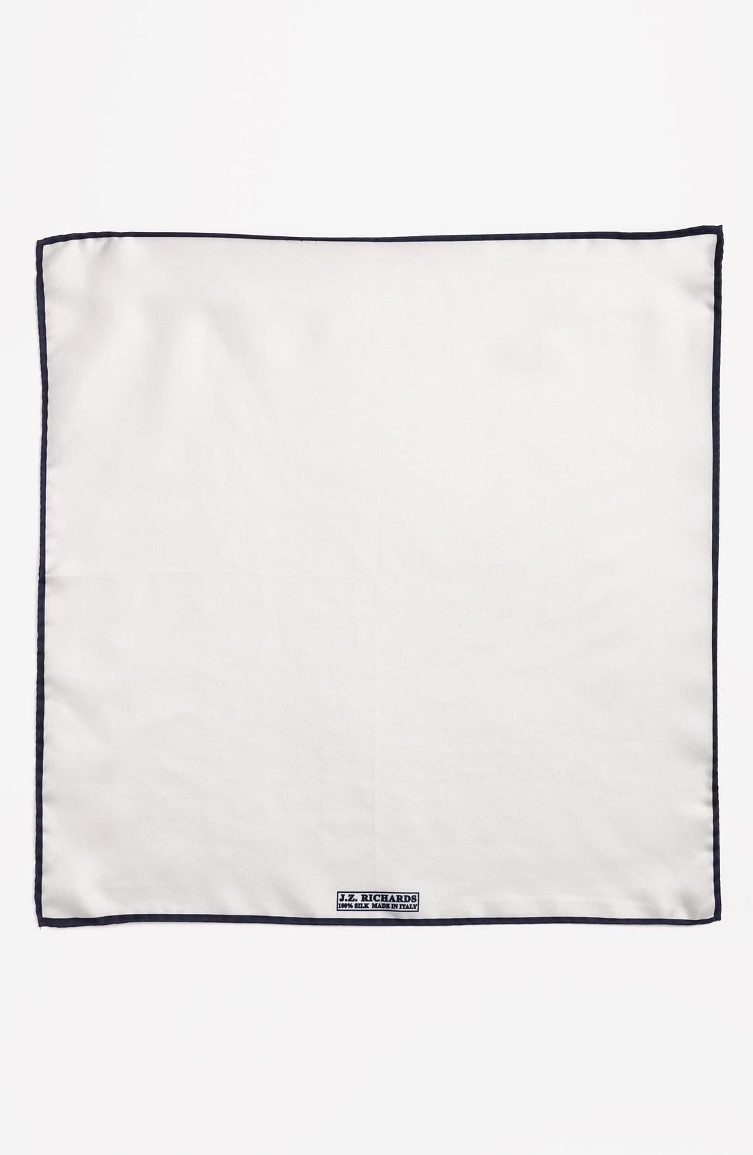 Alternate Image 2  - J.Z. Richards Silk Pocket Square