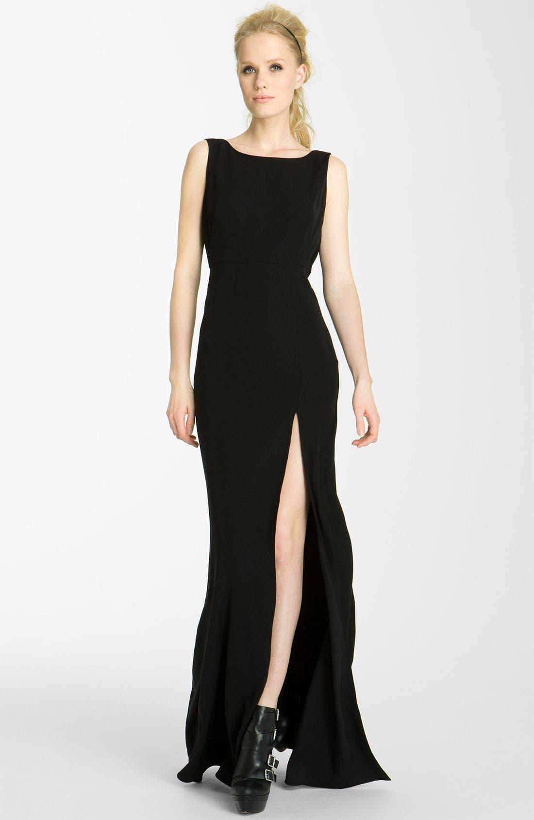Alternate Image 1 Selected - Rachel Zoe 'Kassie' Cowl Back Gown