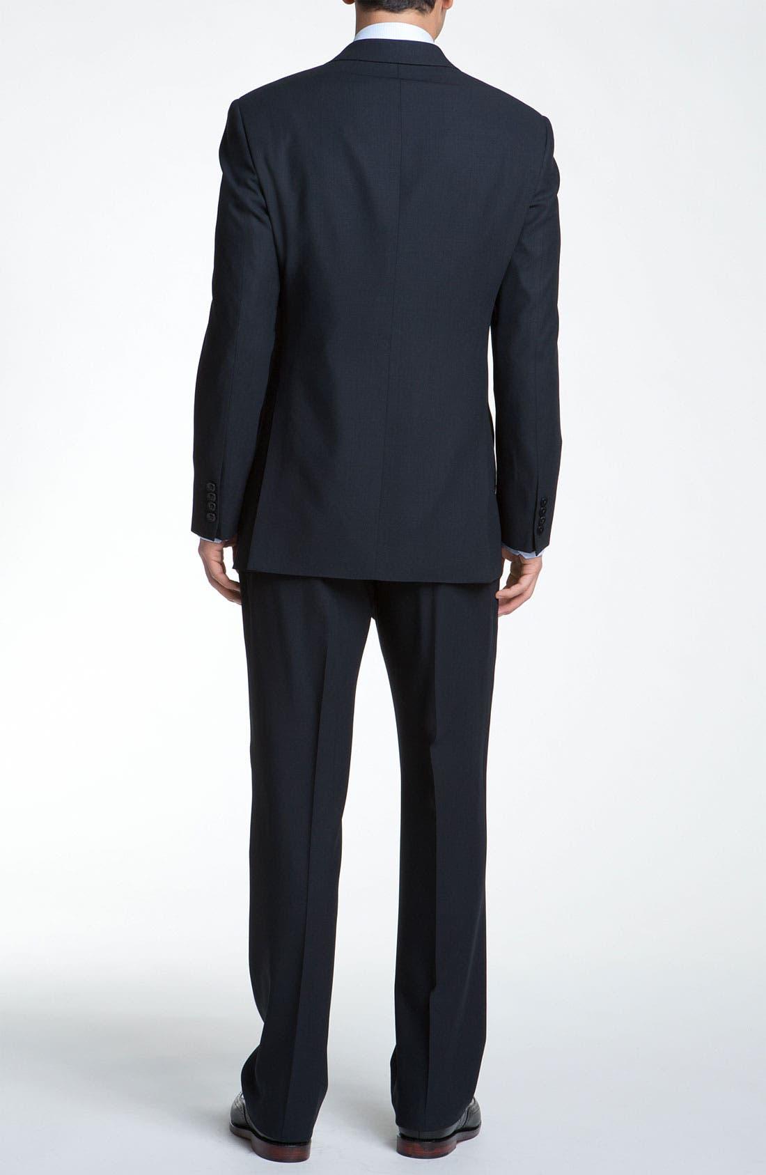 Alternate Image 3  - Armani Collezioni Trim Fit Wool Suit
