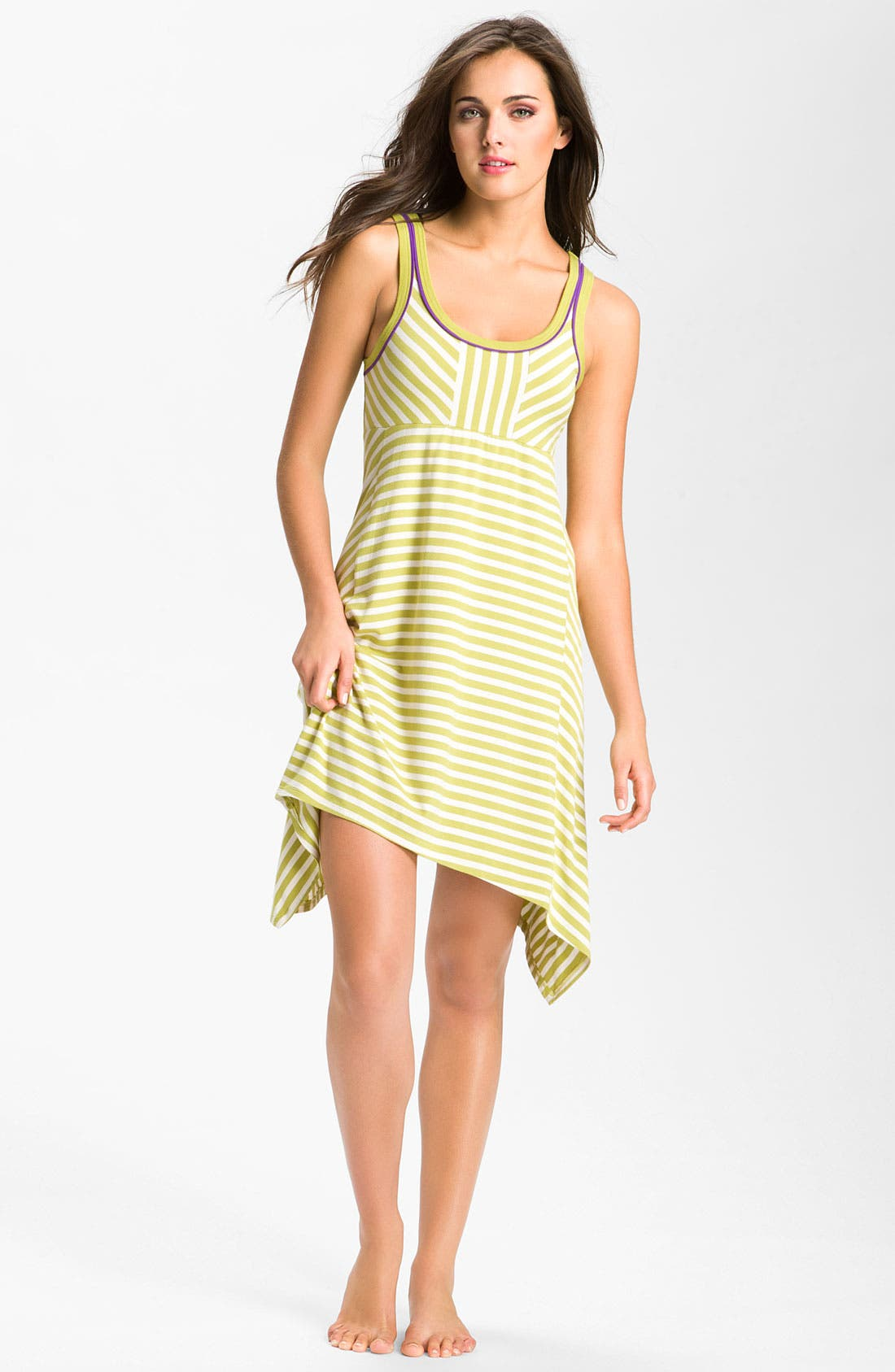 Alternate Image 1 Selected - DKNY 'Stripe Standout' Chemise