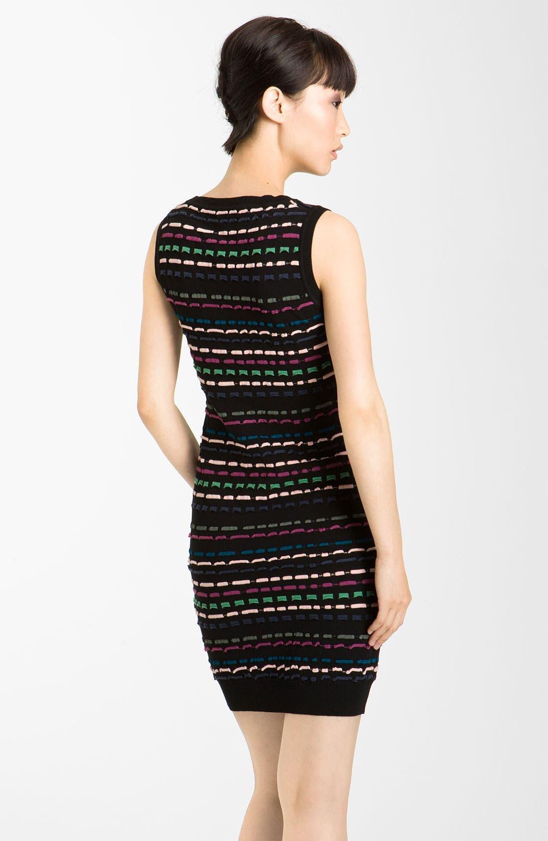Alternate Image 2  - M Missoni Ribbon Stitch Tank Dress