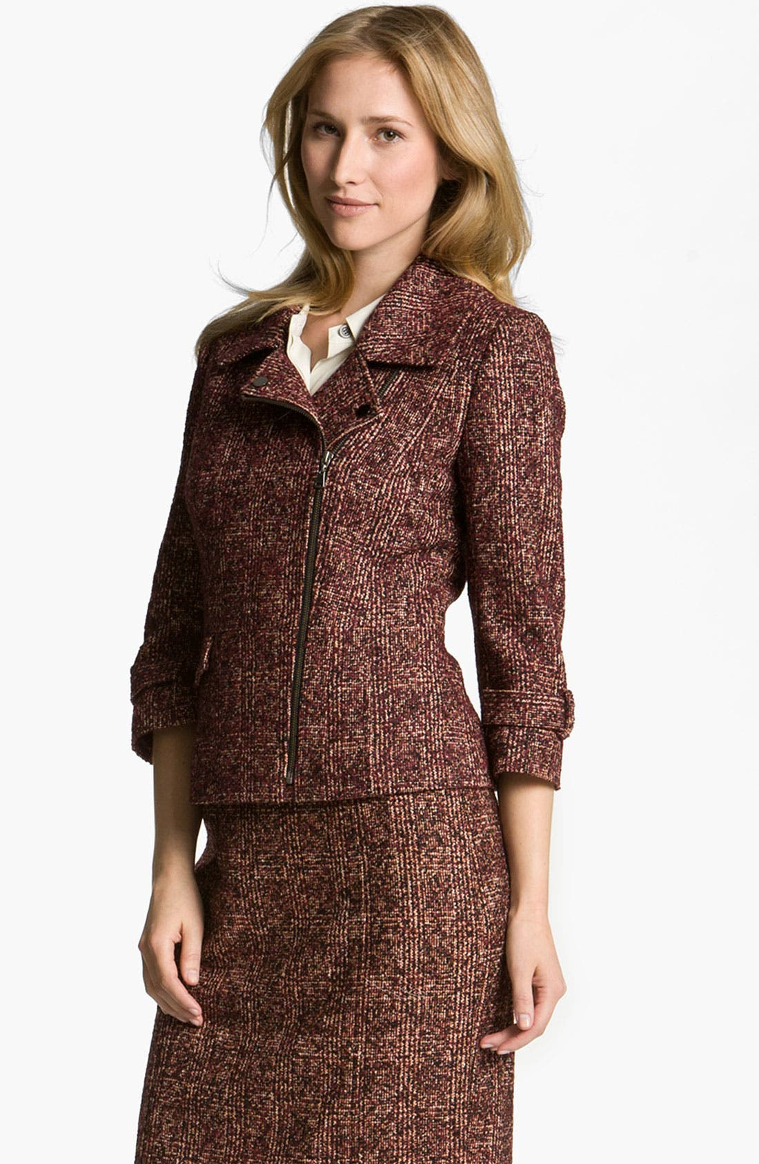 Main Image - Nordstrom Collection 'Cambon' Tweed Jacket
