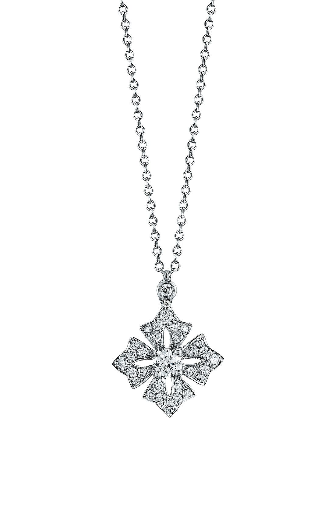 Alternate Image 1 Selected - Kwiat Maltese Cross Pendant Necklace