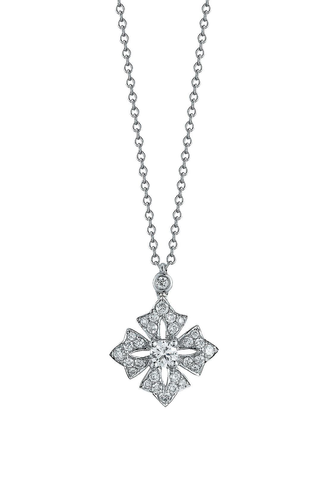 Main Image - Kwiat Maltese Cross Pendant Necklace
