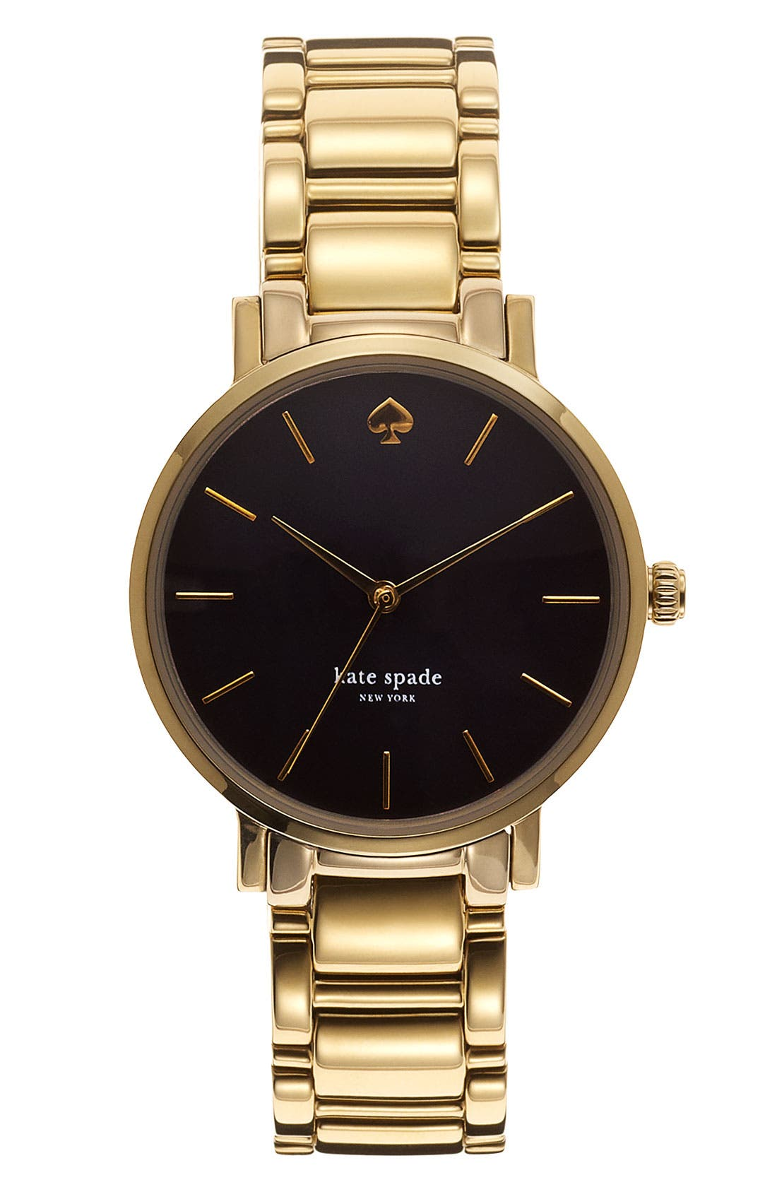 Main Image - kate spade new york 'gramercy' bracelet watch, 34mm