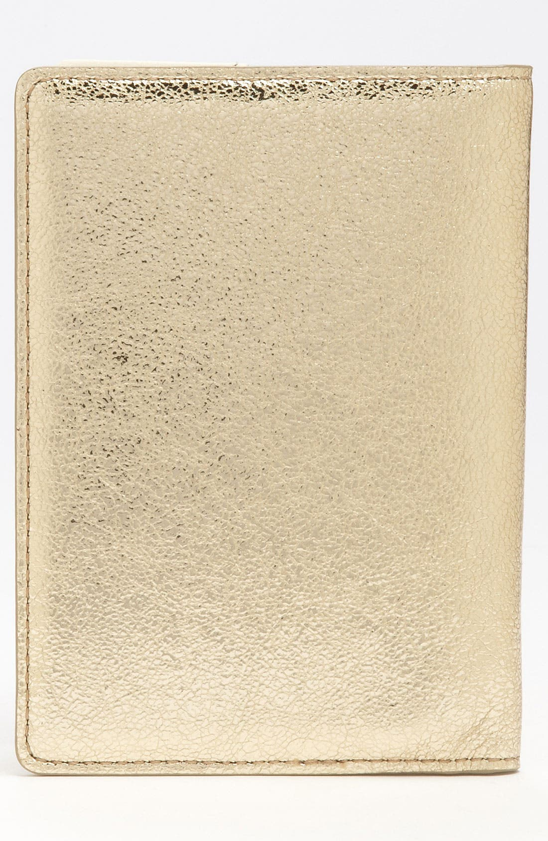 Alternate Image 4  - kate spade new york 'harrison street' metallic passport case