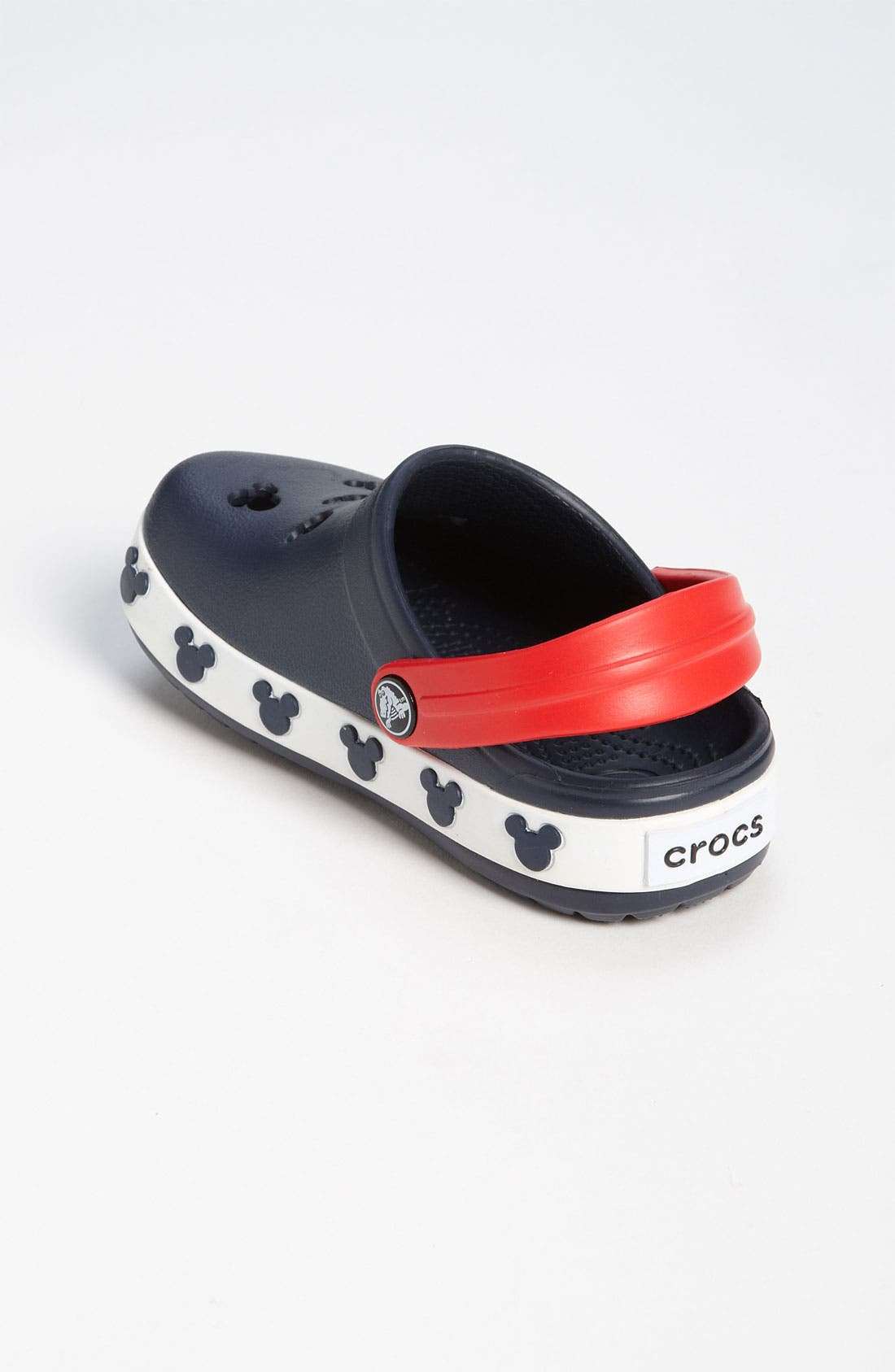 Alternate Image 2  - CROCS™ 'Mickey®' Slip-On (Walker & Toddler)