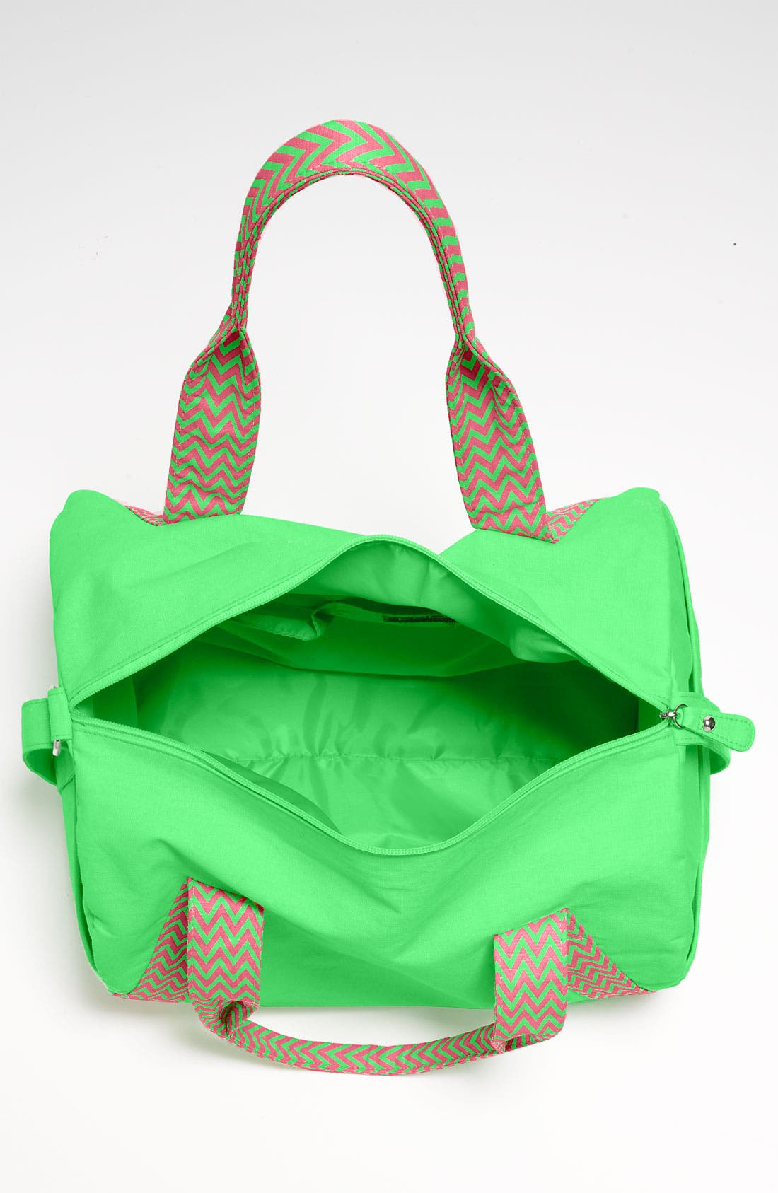 Alternate Image 3  - Lulu Neon Barrel Duffel Bag
