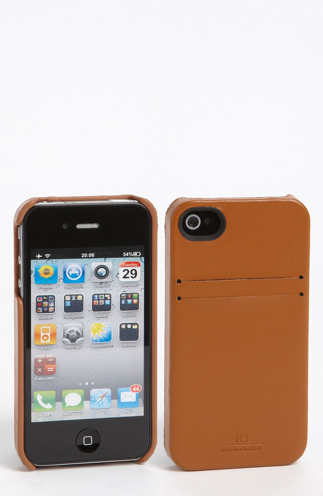Alternate Image 1 Selected - HEX 'Solo' iPhone 4 & 4s Wallet Case