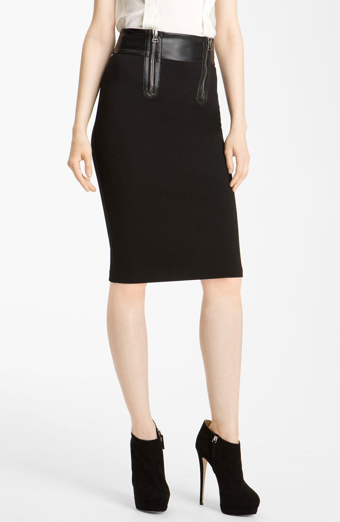 Alternate Image 1 Selected - Pierre Balmain Slim Pencil Skirt