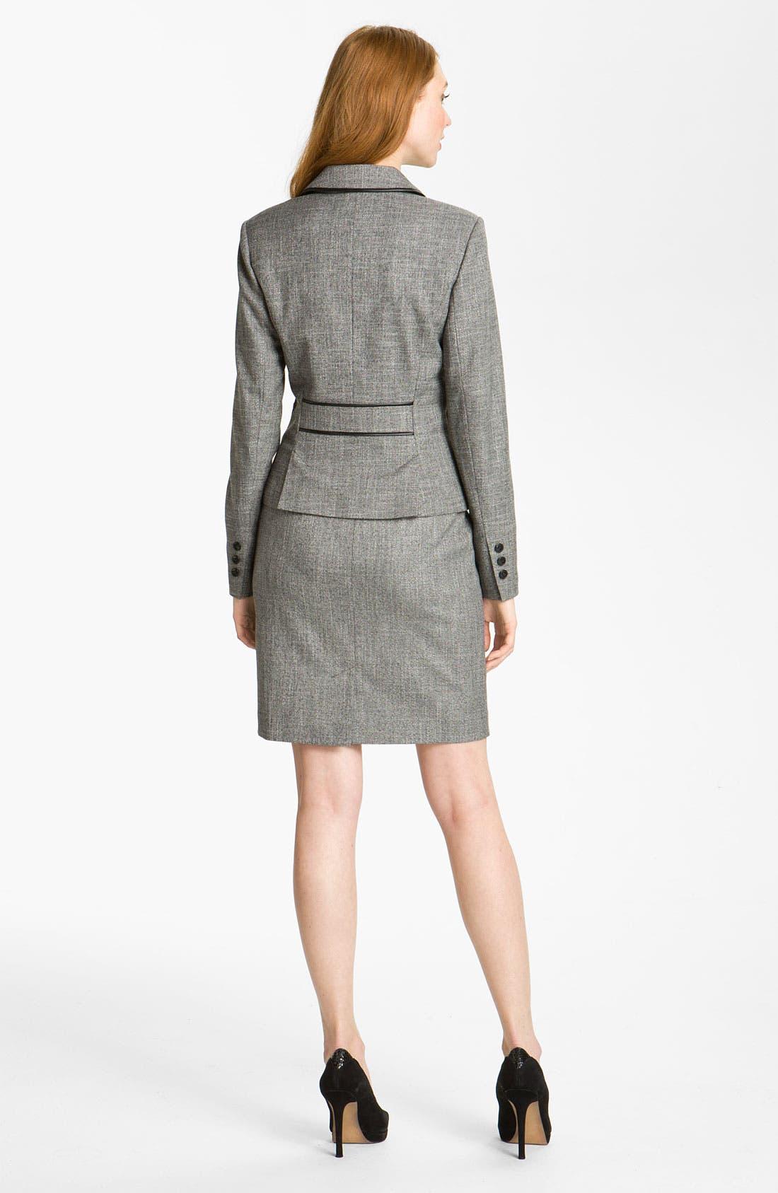 Alternate Image 5  - Halogen® Two Tone Pencil Skirt