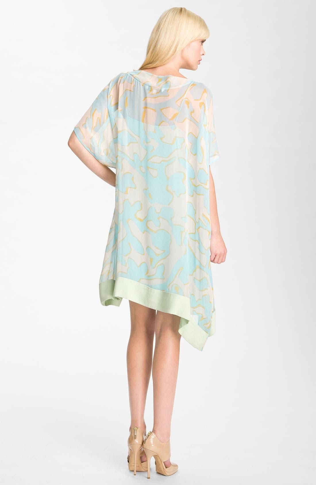 Alternate Image 2  - Diane von Furstenberg 'New Hanky' Print Silk Dress
