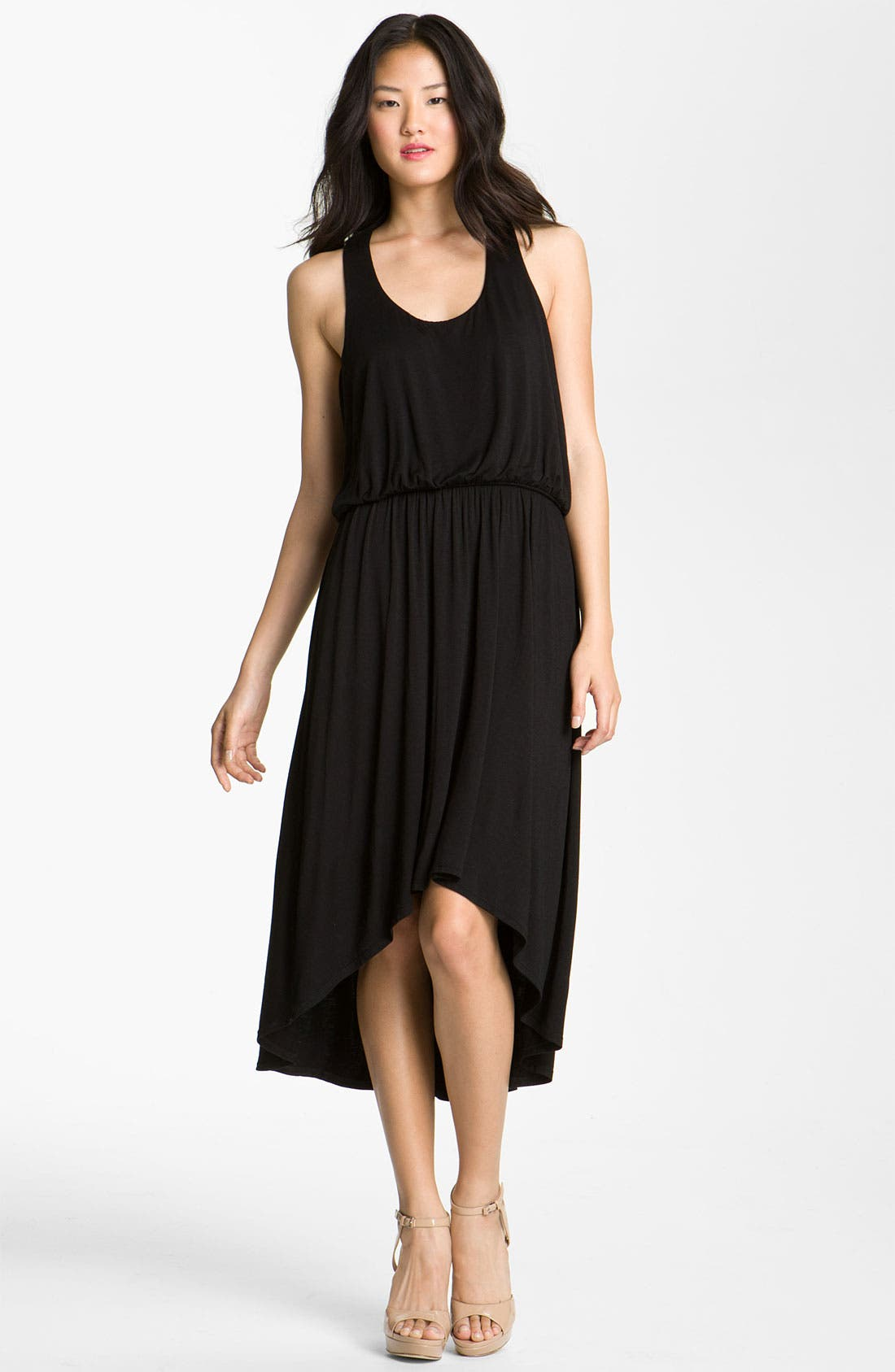 Alternate Image 1  - Bobeau Racerback Jersey Dress
