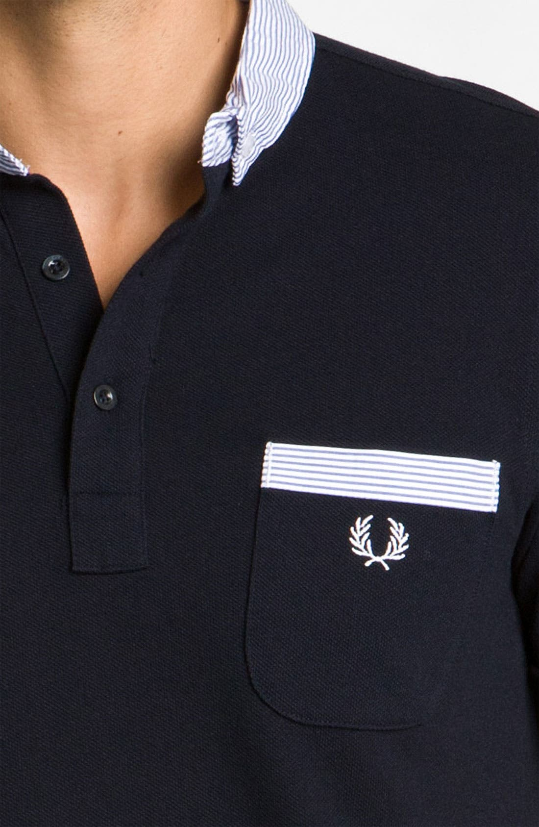 Alternate Image 3  - Fred Perry Trim Fit Polo