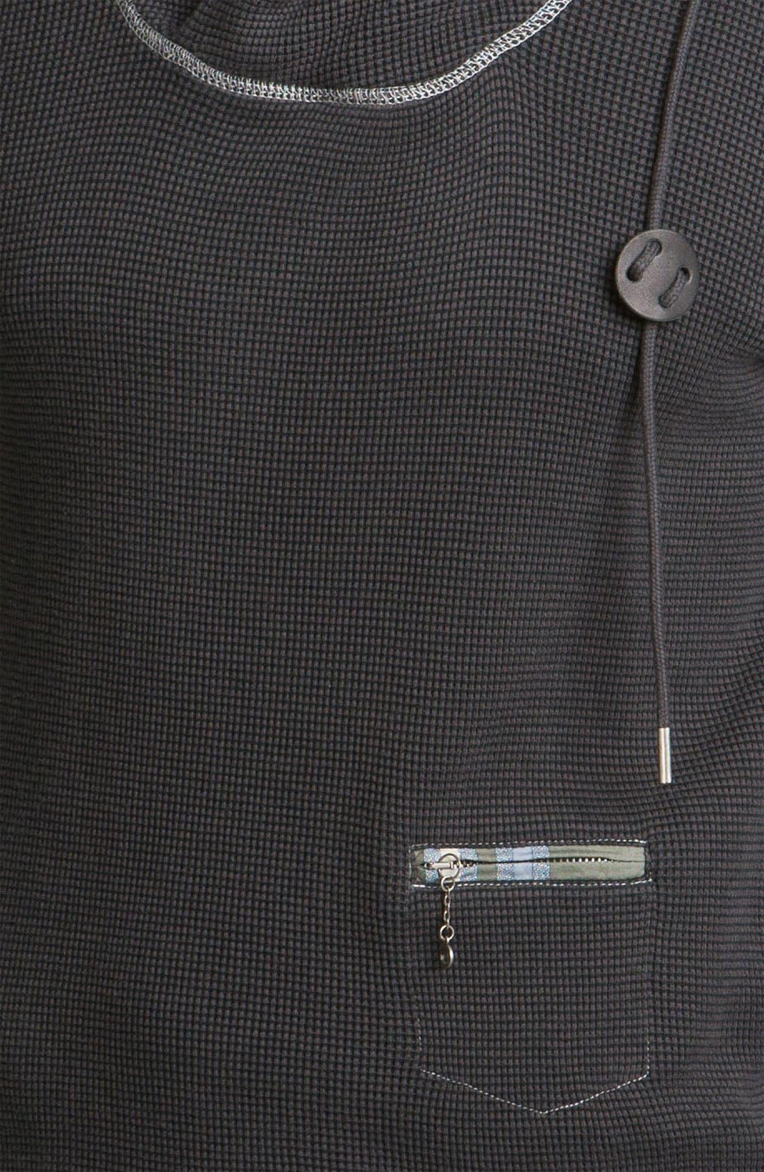 Alternate Image 3  - DIESEL® 'Sybill' Fleece Pullover Sweatshirt