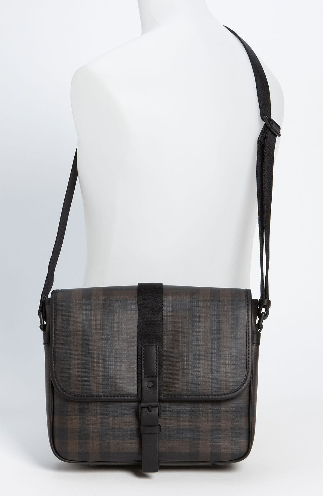 Alternate Image 4  - Burberry Check Print Messenger Bag