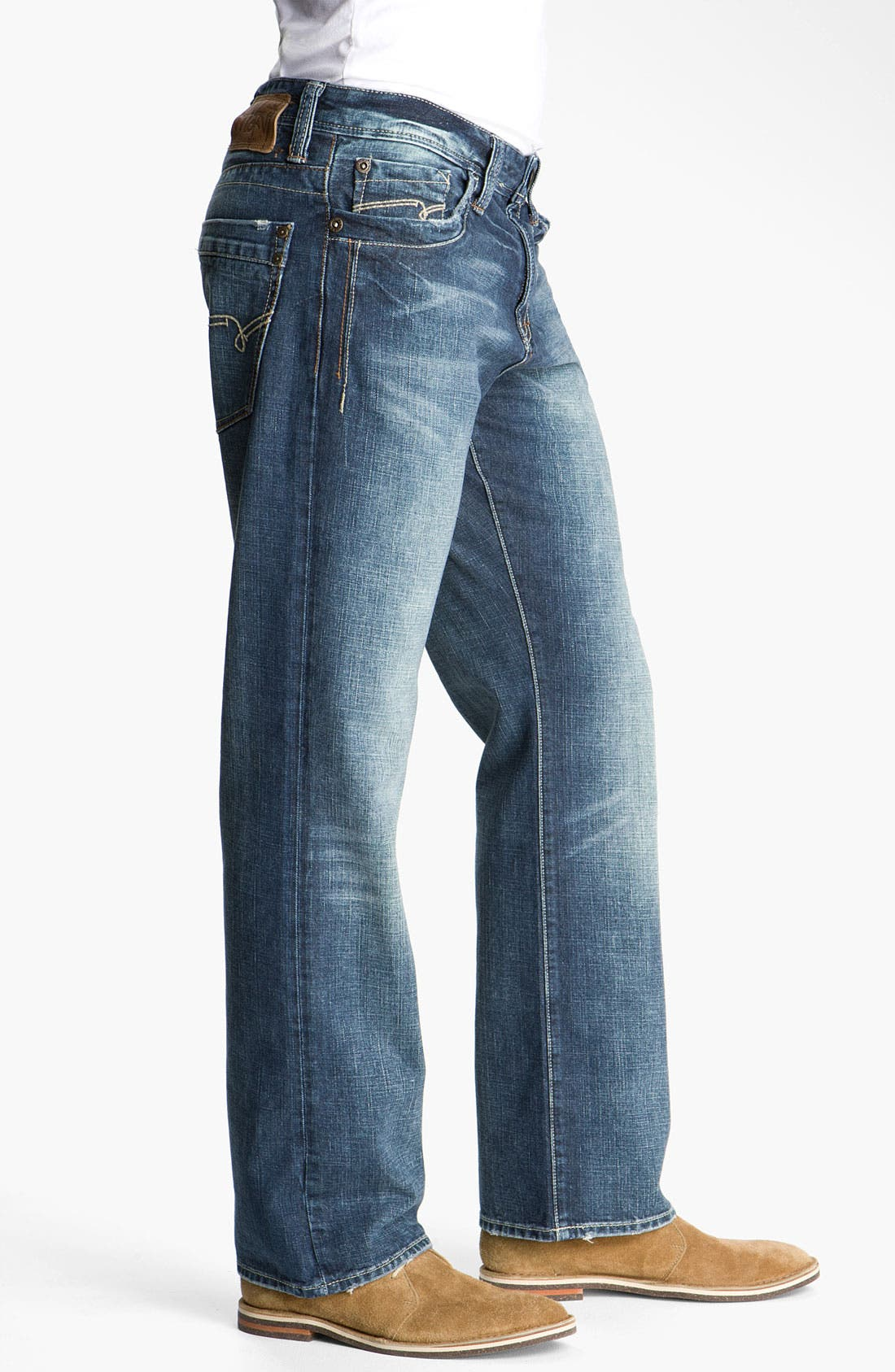 Alternate Image 3  - Mavi Jeans 'Matt' Relaxed Fit Jeans (New York Cashmere)