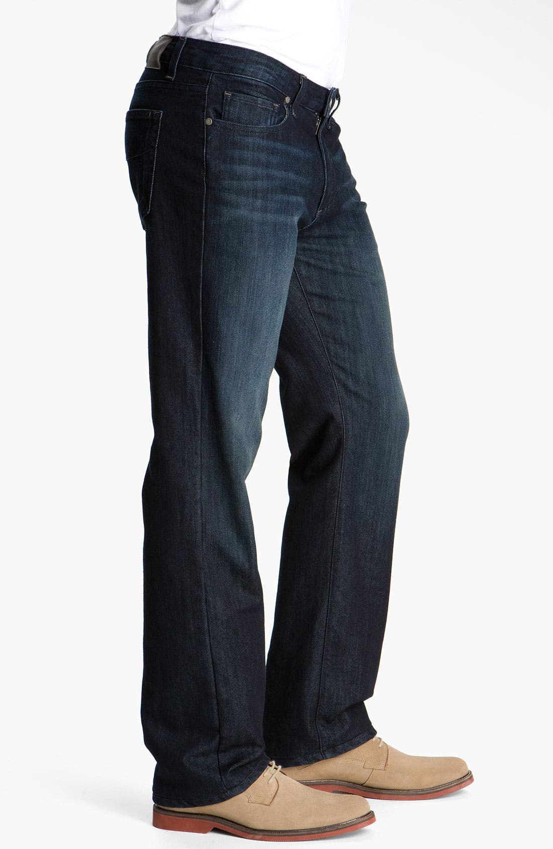 Alternate Image 3  - PAIGE 'Doheny' Straight Leg Jeans (McKinley)