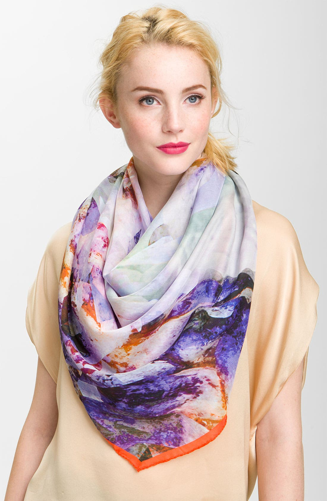 Alternate Image 1 Selected - Ted Baker London 'Shanti Crystallized' Scarf