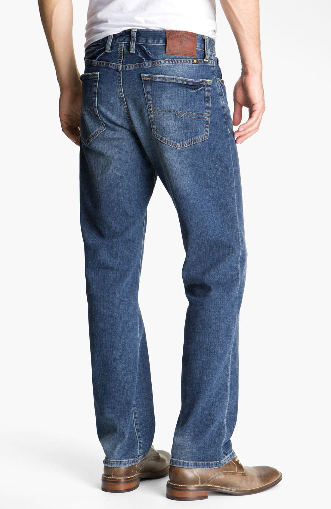 Alternate Image 1  - Lucky Brand 'Classic' Straight Leg Jeans (Croft)
