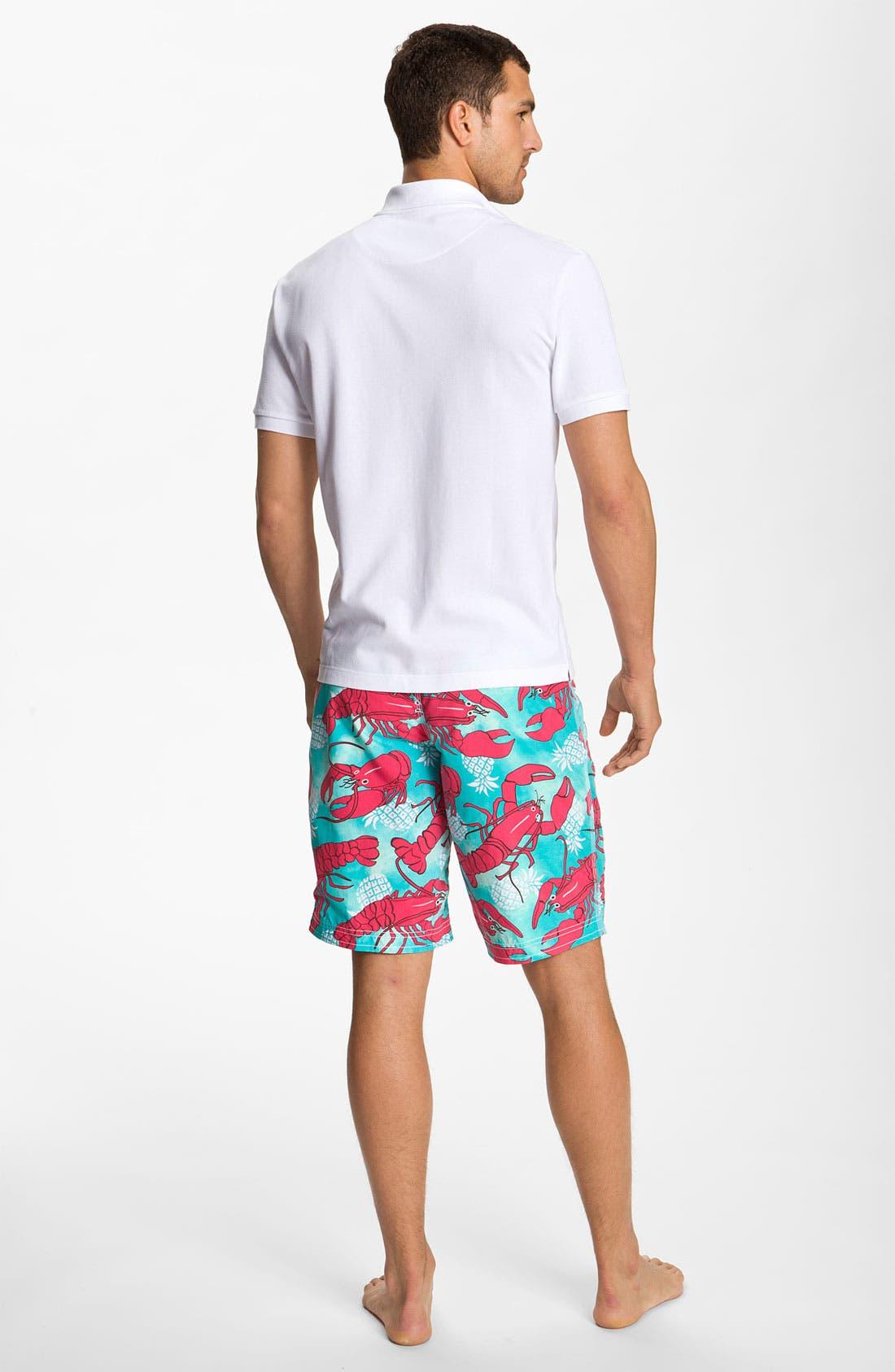 Alternate Image 5  - Vilebrequin 'Ocean Surfer' Lobster Print Board Shorts