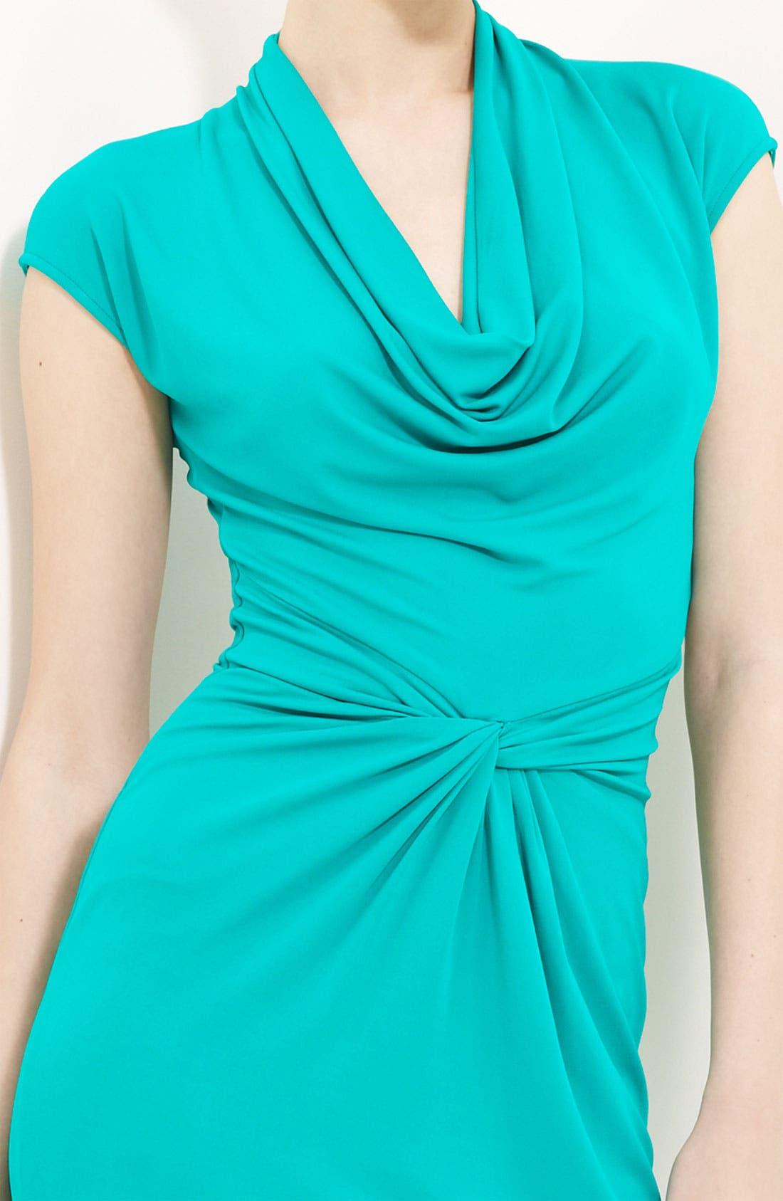 Alternate Image 3  - Michael Kors Cowl Neck Matte Jersey Dress