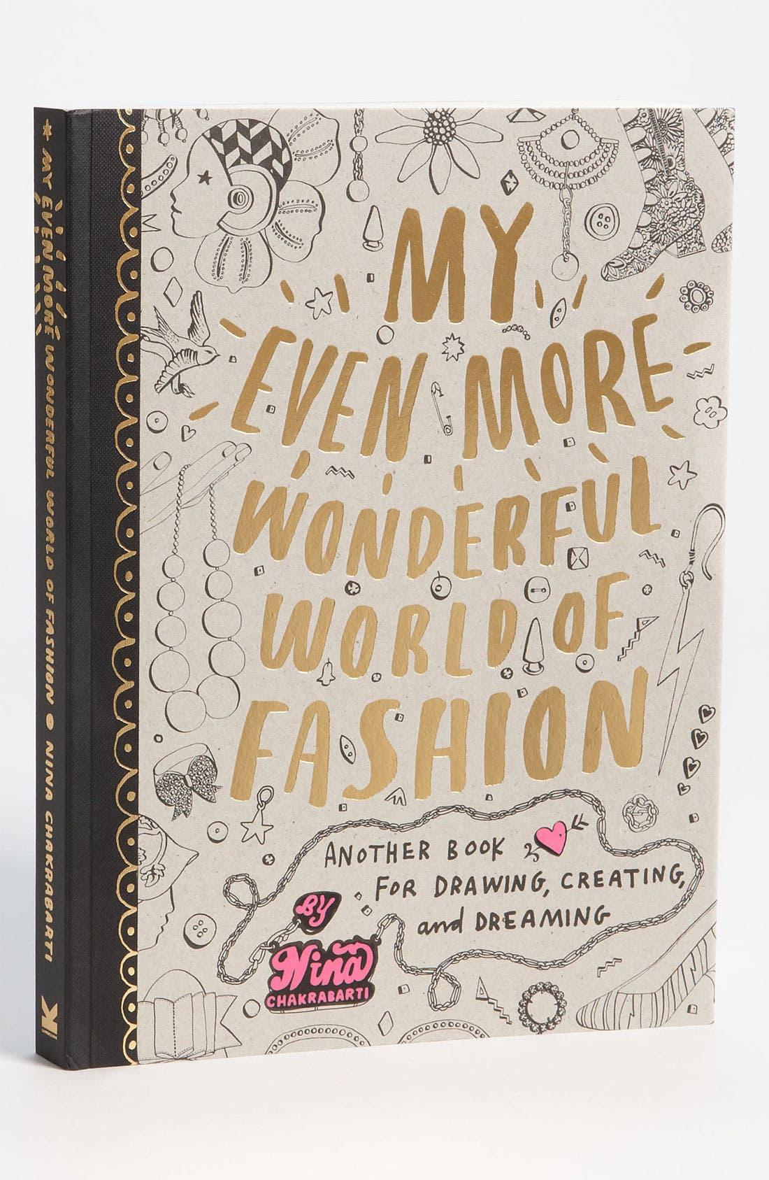 Main Image - 'My Even More Wonderful World of Fashion' Book (Girls)