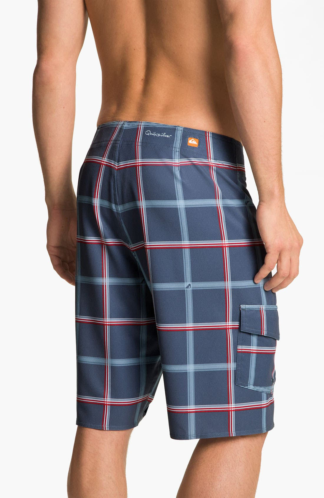 Alternate Image 2  - Quiksilver Waterman 'Square Root' Diamond Dobby™ Board Shorts (Men)
