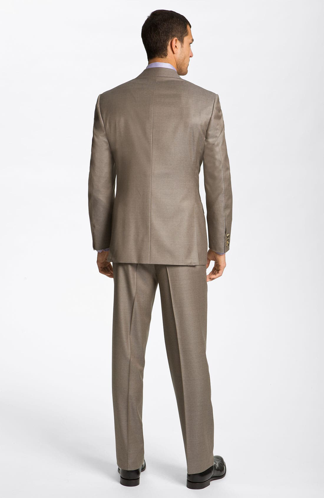 Alternate Image 3  - Canali Wool Suit