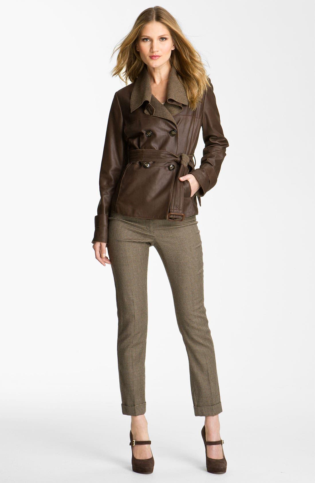 Alternate Image 4  - Weekend Max Mara 'Alvaro' Leather Jacket