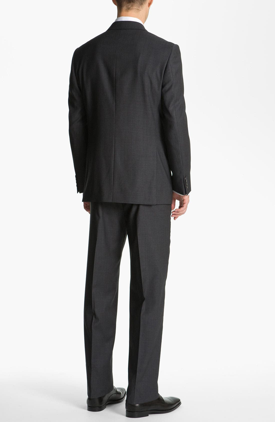 Alternate Image 3  - Joseph Abboud 'Signature Silver' Check Suit