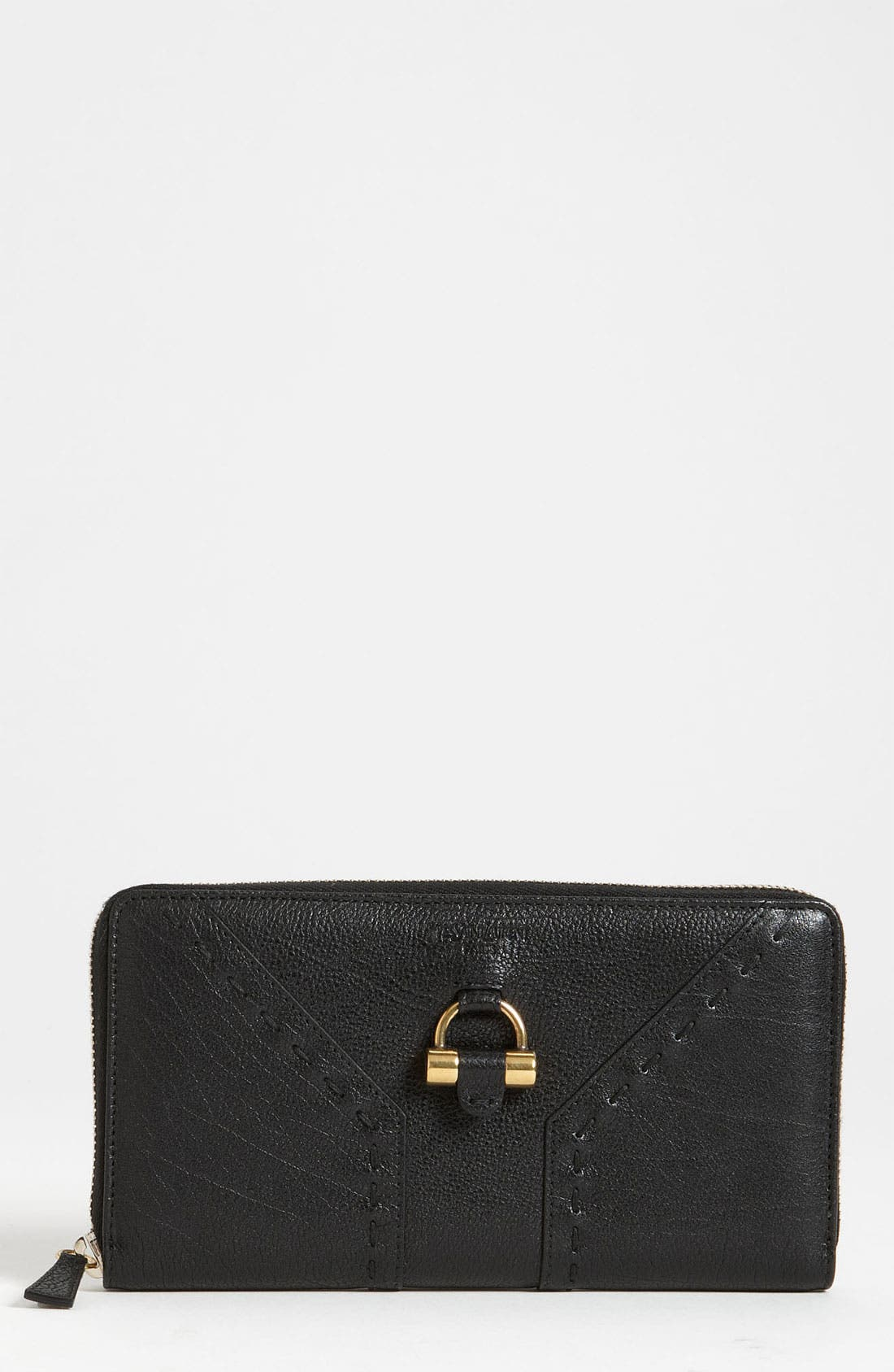 Alternate Image 1 Selected - Yves Saint Laurent 'Muse' Leather Wallet