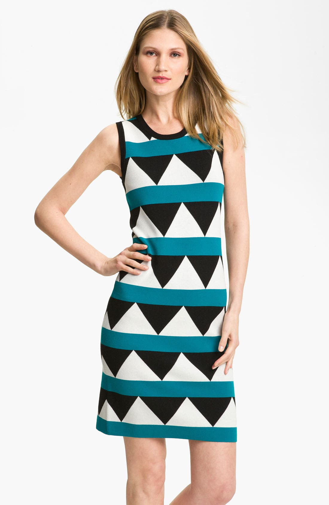 Alternate Image 1 Selected - Milly 'Geo Pop' Print Shift Dress