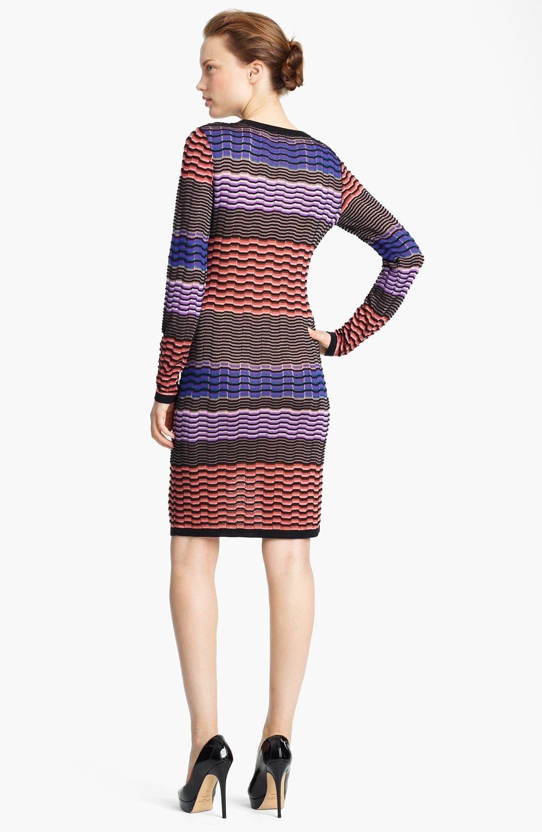 Alternate Image 2  - Missoni Stripe Knit Dress