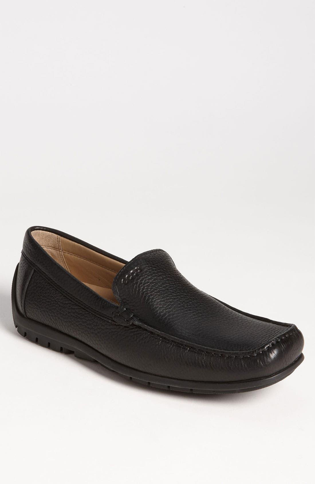 Alternate Image 1 Selected - ECCO 'Soft' Driving Shoe (Men)