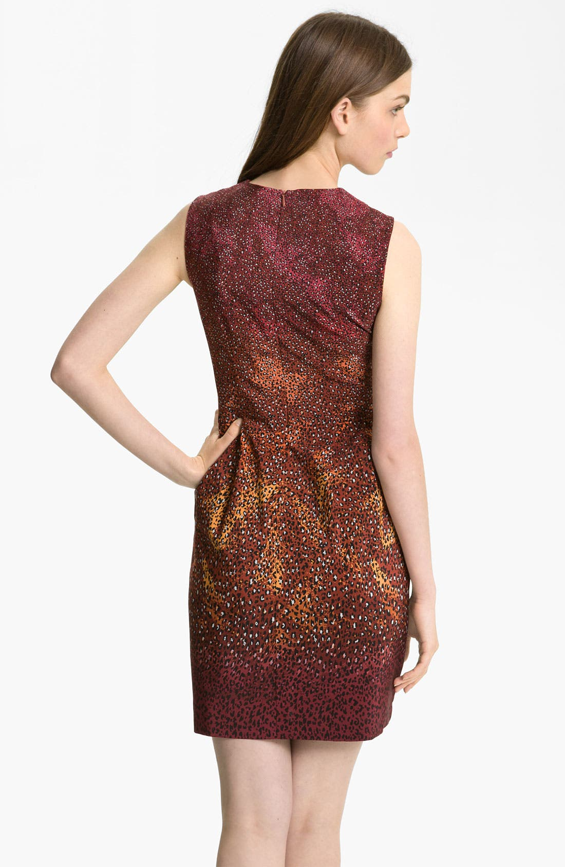 Alternate Image 2  - Nanette Lepore 'Firefly' Print Silk Dress