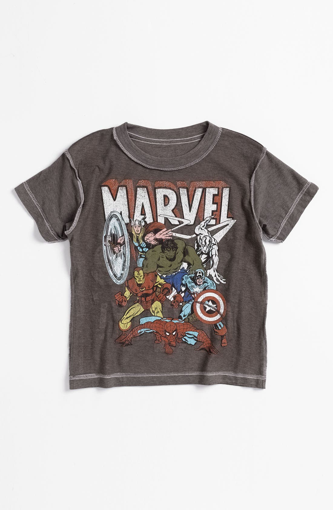 Alternate Image 2  - Jem 'Marvel® Identity' Reversible T-Shirt (Little Boys)